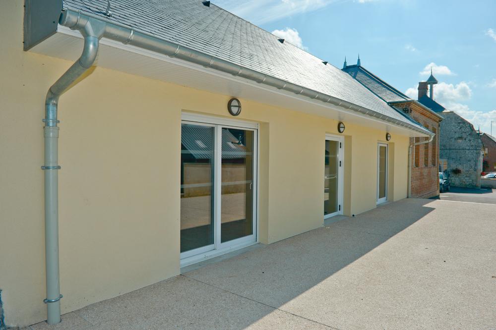 Bati renov salle communale de Berlise