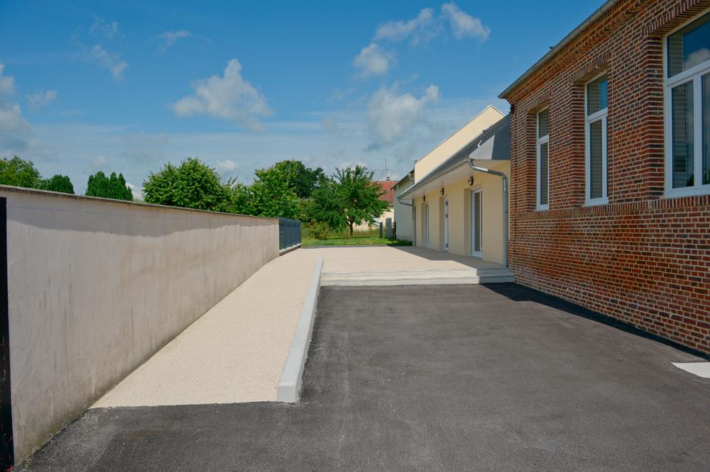 Bati renov salle communale de Berlise / accessibilité
